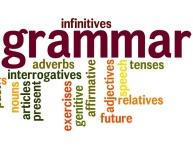 Grammar glossary